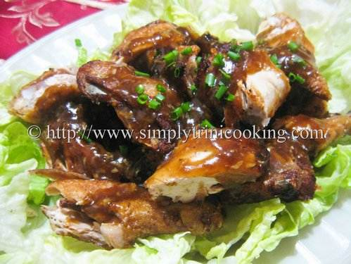 chinese style fried chicken