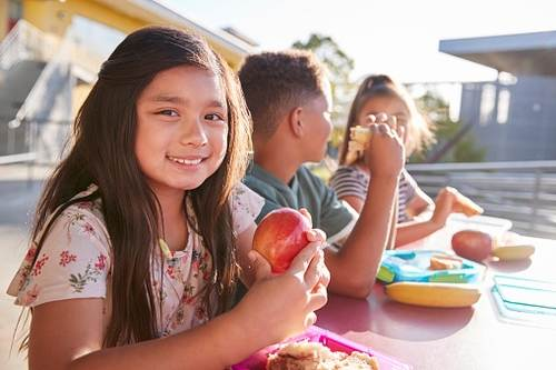 eating healthy for students
