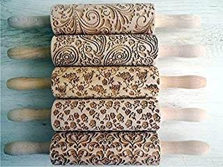 rolling pins with patterns