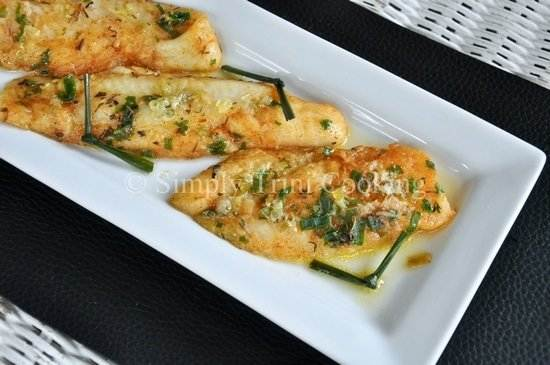 Steamed Fish with Chive and Lemongrass Butter